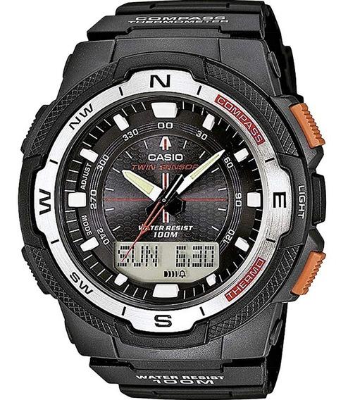 Relógio Casio Masculino Sgw-500h-1bvdr *bússola/termômetro