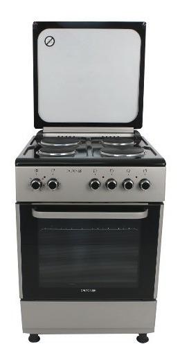 Cocina Eléctrica 60cm 4 Hornallas Grill Dalton