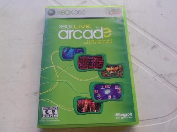 Xbox Live Arcade Compiliation Disc Original E Caixa Xbox 360