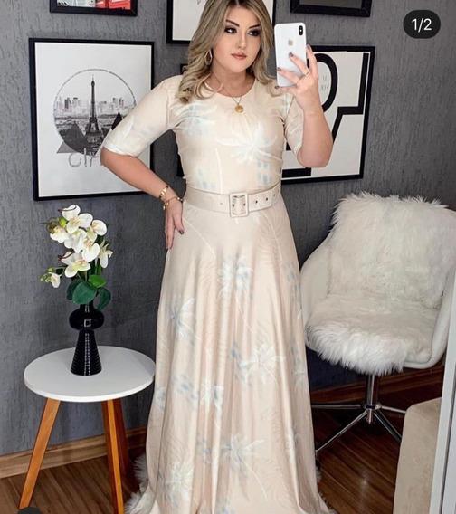 Mega Promoção - Vestido Longo - Moda Evangélica Comportada