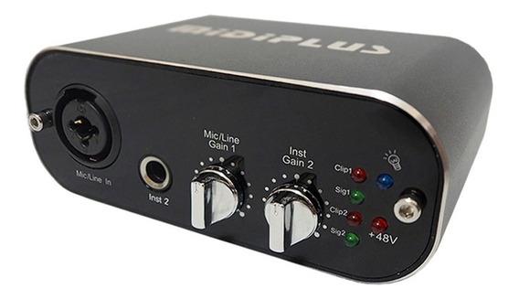 Midiplus Audio Link Light Placa De Sonido Externa Cuotas