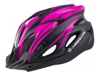 Capacete Mtb Ciclismo Feminino Bike Rosa Led Sinalizador M