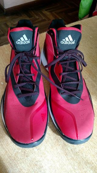 Zapatillas Basquet Talle 20 Us Rojas