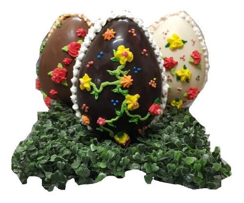 Huevo De Pascua Chocolate - N18 De 500 Grs - Semi Amargo
