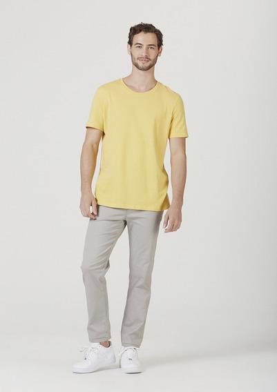 Camiseta Masculina Básica Em Algodão Modelagem World Hering