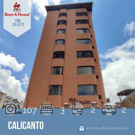 Apartamento En Venta En Maracay, Calicanto 20-9172 Scp