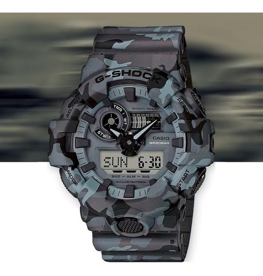 Relógio Casio G-shock Analóg Digital Ga-700cm-8adr Camuflado