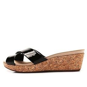0d642fe15 Sapato Salto Anabela Em Cortica Feminino - Sapatos no Mercado Livre ...