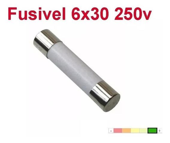 5 Pçs Fusível Cerâmico Microondas (6x30) 10a 250v