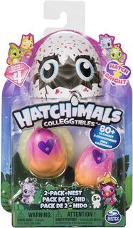 Hatchimals Hatch Bright, 2 Figuras + Nido Temporada 4