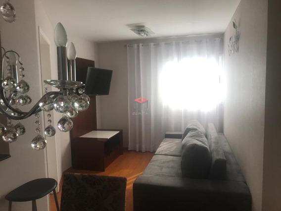 Apartamento À Venda, 1 Quarto, 1 Vaga, Casa Branca - Santo André/sp - 81896