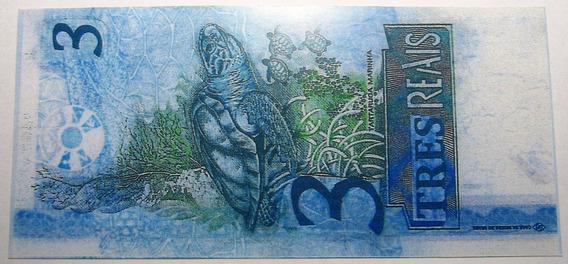 Brasil Billete 3 Reales Año 1994 Pick - No Emitido Copia Unc