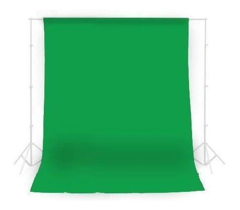 Kit Com Suporte + Fundo Infinito Oxford Verde 1,5m X 2m