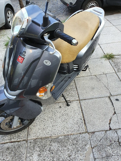 Scooter Moto Kymco Like 125 Excelente Estado Vtv Al Día