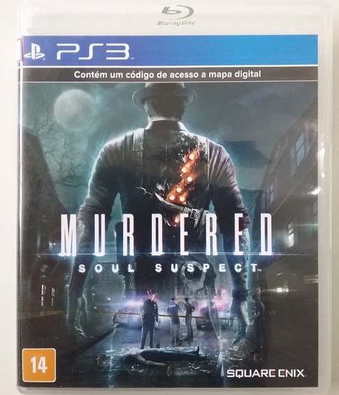 Murdered Soul Suspect Ps3 Original Lacrado Mídia Física