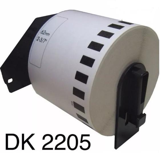 Etiqueta Contínua Dk-2205 62mmx30,48m - Brother Original 1un