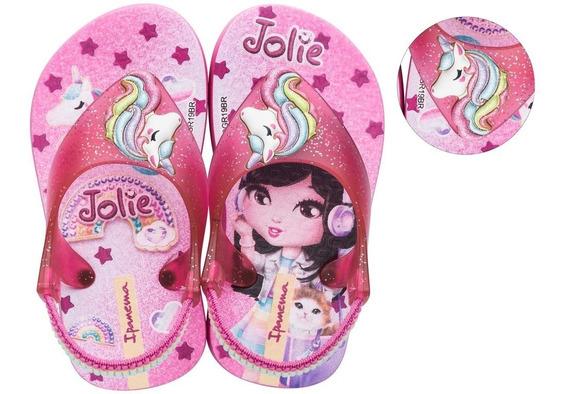 Chinelo Bebê Jolie Unicórnio Grendene Kids 26215