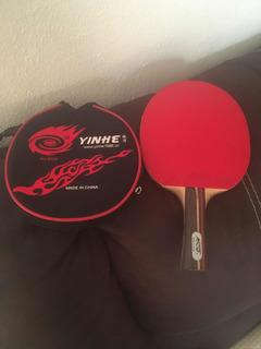 Raqueta yinhe Con Forro Para Tenis De Mesa.