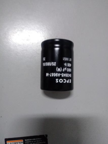 Capacitor 680 Uf X 400 V Epcos Original