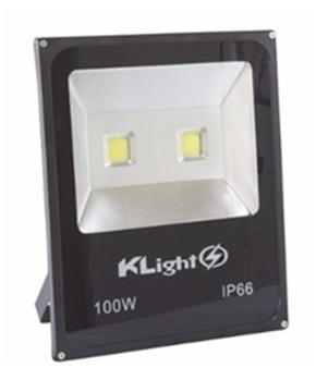 10 Refletor 100w - Klight - 100 W - Ip 66 - Branco Frio