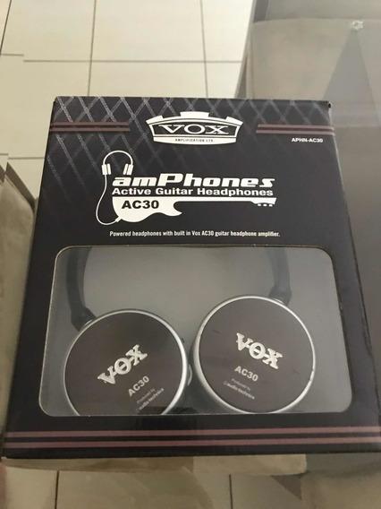 Fone Vox Ac30 Am Phones Active Guitar Headphones