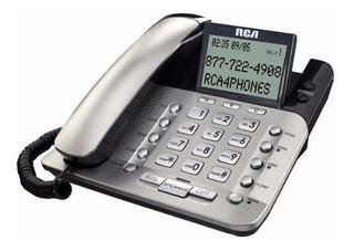Rca 1223p Telefono Fijo Caller Id 2 Lineas Speaker Flash.
