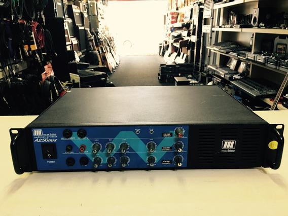 Amplificador Potencia Machine A 250 Mix - Loja Jarbas Inst.