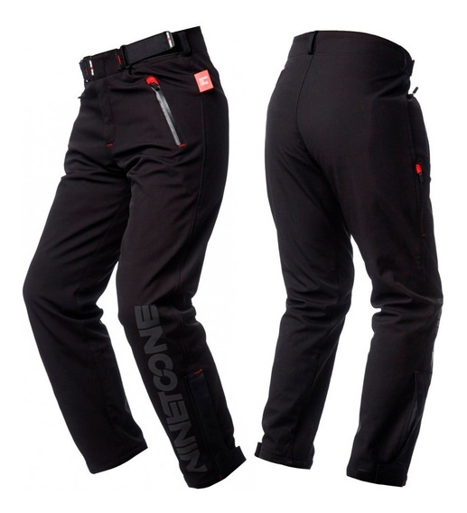 Pantalon Moto Softshell Dynamic Con Protecciónes Ninetoone By Ls2