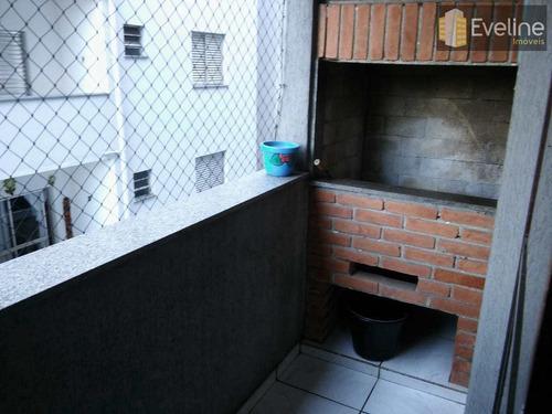 Guarujá - Apartamento A Venda Balneário Praia Do Perequê. 100m² - A1147