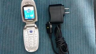 2 Celulares X480 Samsung Original Com Carregador Oi E Tim