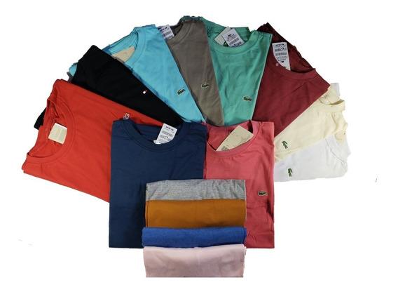 Kit C/ 10 Camiseta Gola Redonda Tamanho Especial G1 G2 G3 G4