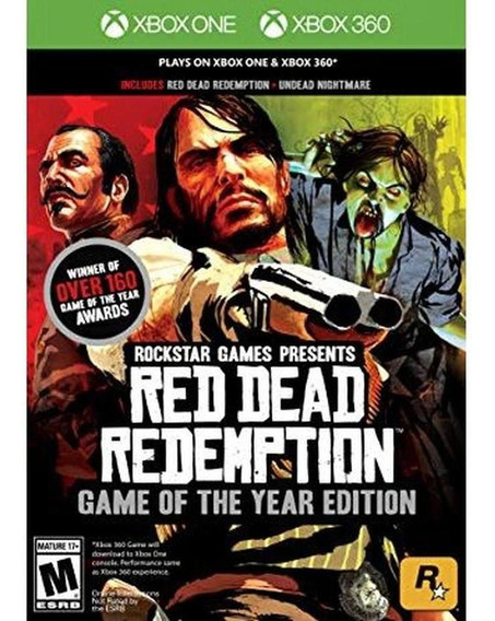 Red Dead Redemption Game Of The Year Edition - Xb1-360