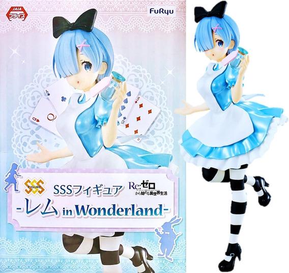 Re:zero Rem In Wonderland Pais De Las Maravillas Re Zero Sss