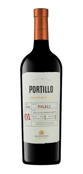 Vino Tinto Portillo Malbec Botella 750 Ml Bodegas La Negrita