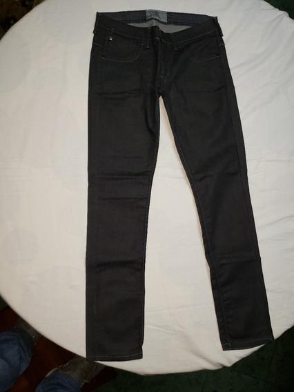 Jeans Negro 5 Bolsillos Koxis Talle 28