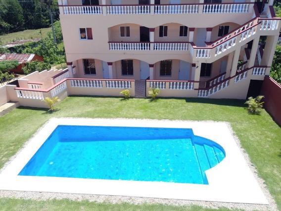 Apartamento Con Piscina En Rio San Juan