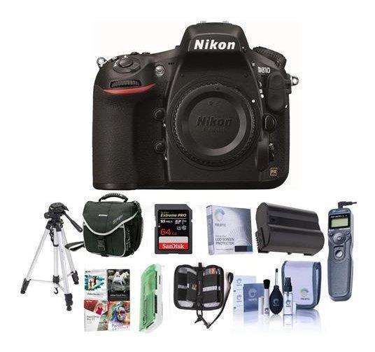 Nikon 810 Digital Slr Camara 36.3mp Bundle Camara Funda 64 ®