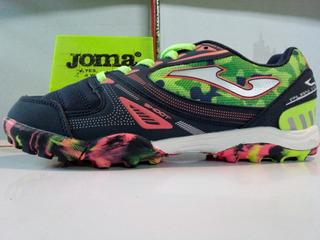 Calzado Original Joma Sala Max 703 Junior Futbol Rapido