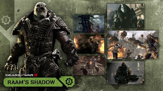 La Sombra De Ram - Gears Of War 3 - Dlc - Xbox 360/xbox One