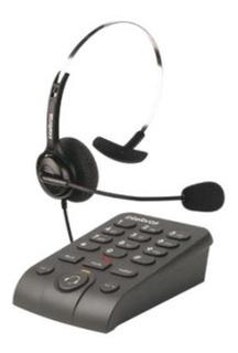 Telefone Headset Intelbras Hsb 40 Preto