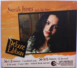 Norah Jones. Feels Like Home. (cd+dvd) Original, Buen Estado
