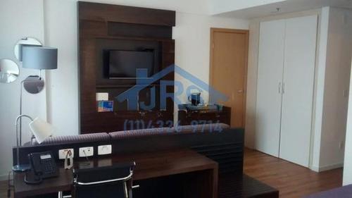 Flat Com 1 Dormitório À Venda, 31 M² Por R$ 203.000 - Alphaville Industrial - Barueri/sp - Fl0048