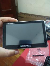 Gps Discovery Com Tv Slim 5.0 Com Caneta - Semi Novo.