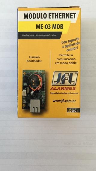Módulo De Comunicação Ethernet Central Active Me-03 Mob Jfl