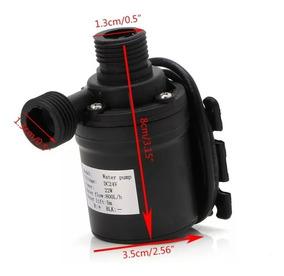 Mini Bomba 12v 800l/h 19w Pra Circulacao Agua Quente