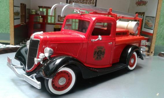 Miniatura 1/19 Sólido Pickup, Bombeiros Ford 1936 1936 ...