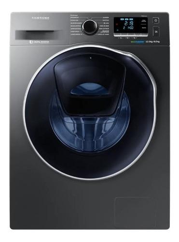 Lavasecarropas Samsung Carga Frontal 10kg Wd10k6410ox