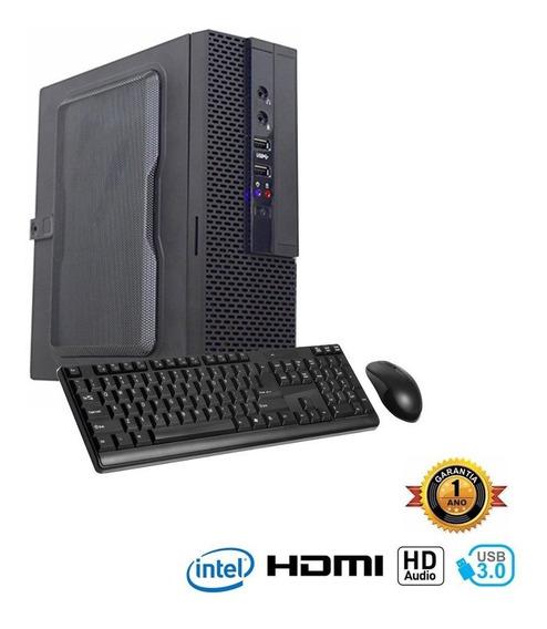Computador Infoparts Dualcore 2.58ghz, 4g, 500g, Gab Mini