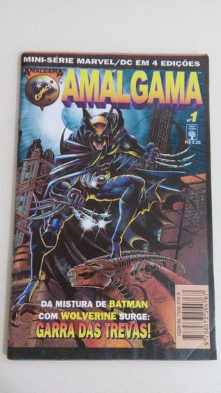 Mini Serie Especial Amalgama Dc/marvel - Raridade