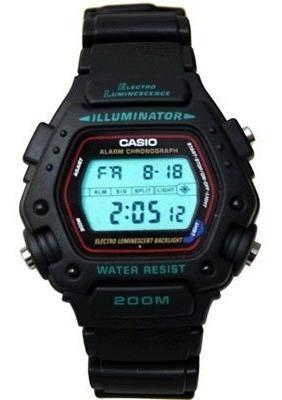Relógio Casio - Dw-290-1vs - Illuminator - Wr200m